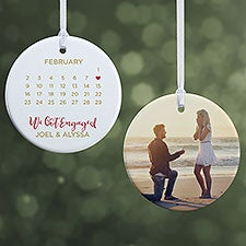 A Date To Remember Personalized Ornaments - 28449