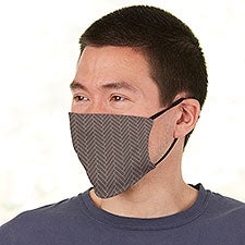 Men's Custom Pattern Personalized Deluxe Face Mask with Filter - 28597