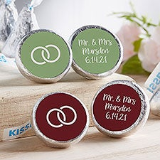 Choose Your Icon Wedding Personalized Candy Stickers - 28647