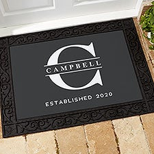 Lavish Last Name Personalized Doormats - 28712