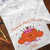 Personalized Kids and Baby Clothes - Pumpkin Princess - 2875