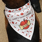 Personalized Halloween Dog Bandana - 2876