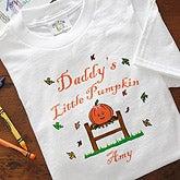 Personalized Halloween Clothes - Little Pumpkin Design - 2879