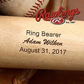 Personalized Wedding Party Baseball Bat - 2887
