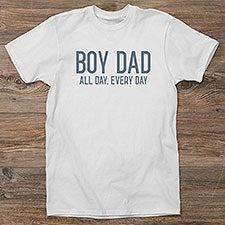 Boy Dad Personalized Dad Shirts - 29148