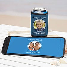 Photo Message For Him Personalized Can & Bottle Wraps - 29411