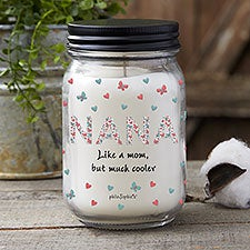 Floral Mom philoSophie's Personalized Candle Jar - 29932