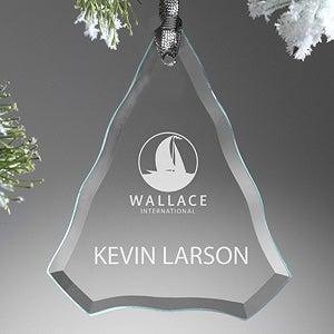 Personalized Corporate Engraved Logo Holiday Tree - 10000