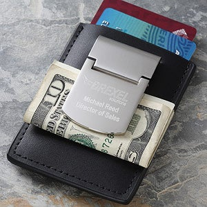 Personalized Corporate Engraved Logo Money Clip  - 10027