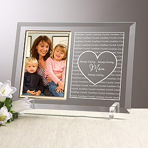 Personalized Picture Frames for Mom - Always Loved - 10050