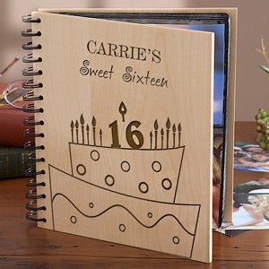 Personalized Birthday Photo Albums - Birthday Cake - 10078