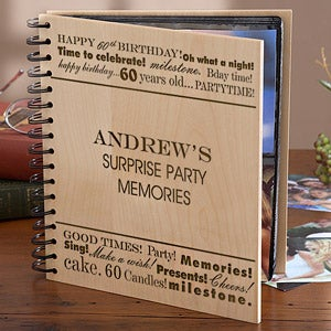 Personalized Birthday Photo Album - Birthday Fun - 10079