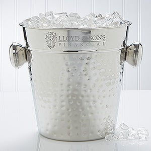 Personalized Ice Bucket With Your Business Logo - 10112