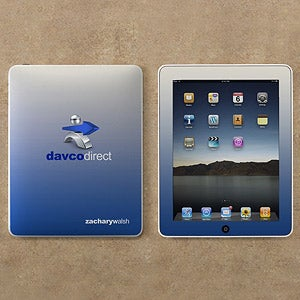 Personalized Corporate Custom Logo iPad® Skin - 10117