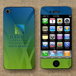 Personalized Corporate Custom Logo Cell Phone Skin - 10120