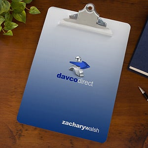 Personalized Corporate Custom Logo Clipboard - 10125