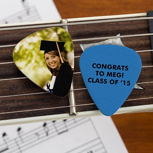 Personalized Graduation Photo Guitar Picks - 10149
