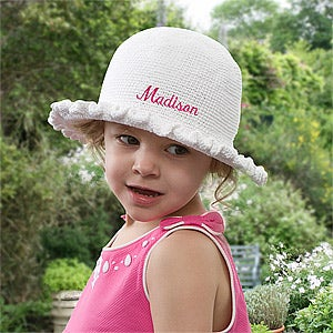 Personalized Crocheted Easter Bonnet for Toddlers - 10150