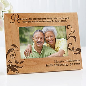 Personalized Retirement Picture Frames - 10167