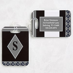 Personalized Luggage Tags - Frequent Flyer - 10175