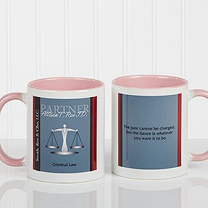 Personalized Coffee Mugs for Lawyers - Legal Inspirations - 10218