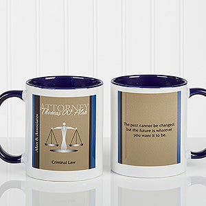 Personalized Lawyer Coffee Mugs Legal Inspirations