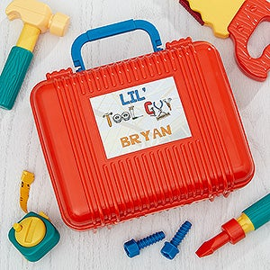 Personalized Kids Toy Tool Set - Little Apprentice - 10233