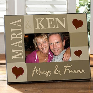 Personalized Love Picture Frames - Loving Hearts - 10243