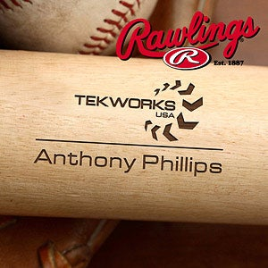 Personalized Corporate Custom Logo Baseball Bat - 10263