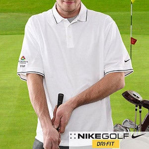 Personalized Corporate Logo Nike Dri-FIT® Golf Polo Shirt  - 10288