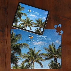 Personalized Corporate Custom Logo Photo Puzzle  - 10299
