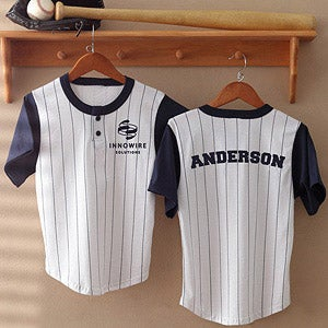 Personalization Mall Personalized Corporate Logo Baseball Jerseys at Sears.com