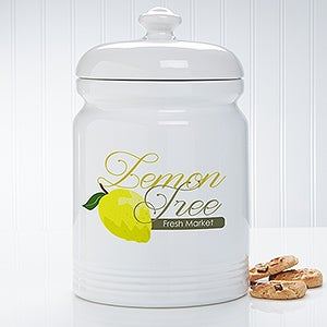 Personalized Logo Ceramic Jar - 10305