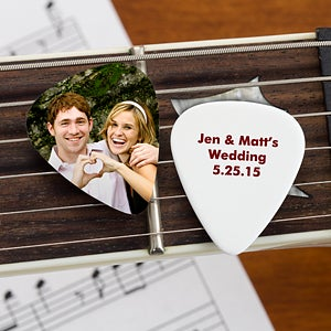 wedding favor personalized guitar picks wedding gifts