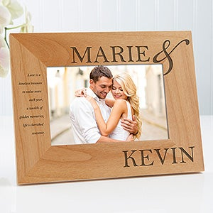 Personalized 4x6 Picture Frames The Perfect Couple