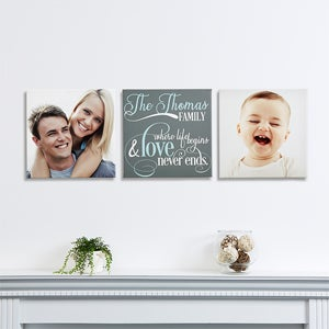 Personalization Mall Family Quote Personalized Canvas Collection - medium at Sears.com