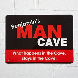 Personalized Street Sign - Man Cave - 10375
