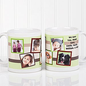 Personalized Photo Collage Coffee Mugs - 10382