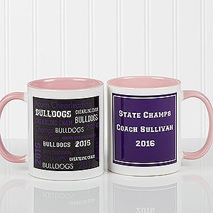 Sports Coach Personalized Coffee Mugs - 10384