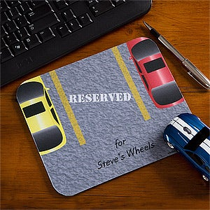 Personalized Car Mouse Pad - Reserved For - 10386