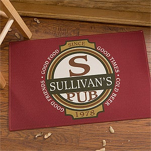Personalized Classic Tavern Bar Doormat - 10388