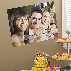 Personalized Birthday Photo Posters - 10424
