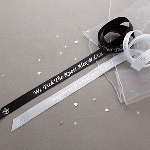 Personalized Wedding Favor Ribbon - 10425