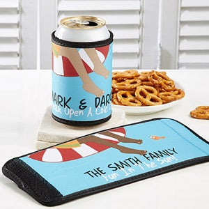 Personalization Mall Personalized Swimming Pool Drink Wraps - No Shoes No Problem at Sears.com