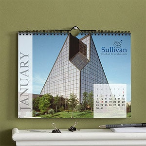 Personalized Corporate Logo Photo Wall Calendar - 10470