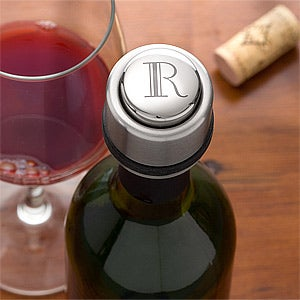 Personalized Wine Bottle Cap - Zippo - 10490