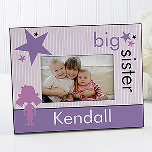 Brother & Sister Personalized Pictures Frames - 10508