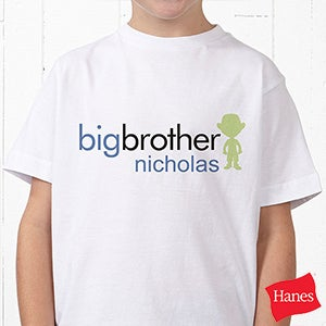 Personalized t shirts for kids big sister or brother kids gifts brother sister personalized apparel for kids babies 10509 negle Image collections