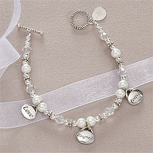 Personalized Daughter Bracelet - Daughter Forever Love - 10526
