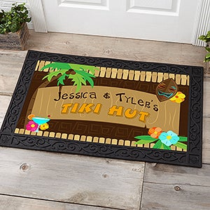Personalized Doormats - Tropical Paradise - 10546